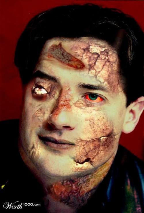 Zombie Brendan Fraser